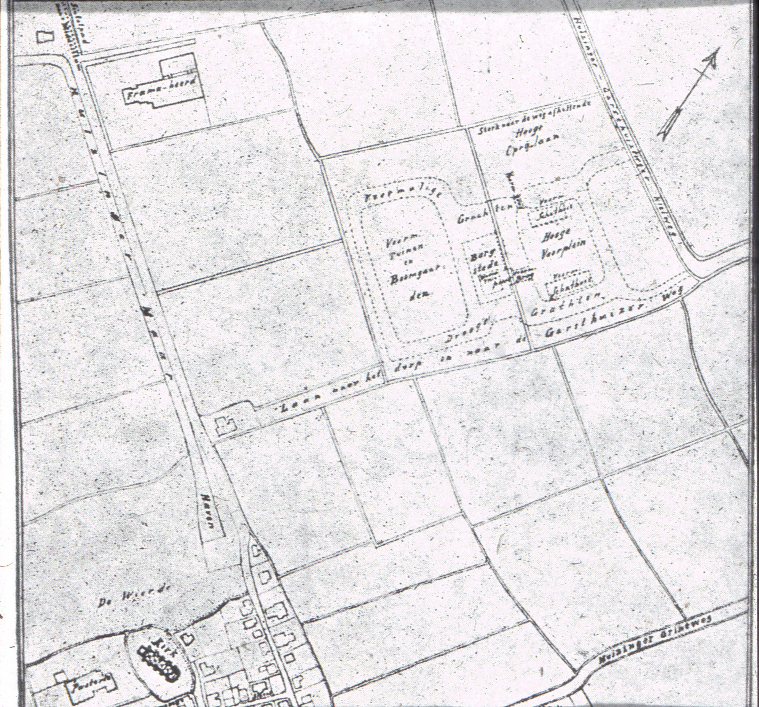 Fraamborg plattegrond